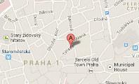 Vedení účetnictví Praha - mapa